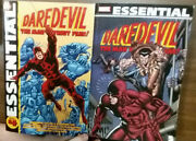 Essential Daredevil Vol. 4 And 5 Signed By Gene Colan Signed Tpb Marvel