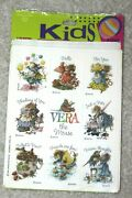 Rare Vintage Vera The Mouse Stickers 4 Sheets Sealed Package
