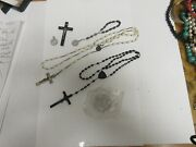 Costume Jewelry , Vintage , Religious , Lot Of 6 Pieces John Cardinal Krol Coin