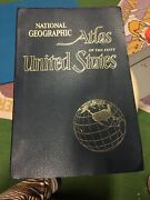 Vintage Collectible National Geographic Atlas Of The United States 1960