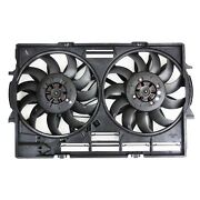 New Radiator Cooling Fan For 2011 2012 2013 2014 2015 2016 2017 Audi A8 Quattro