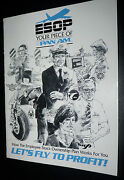 Vintage Pan Am Airlines Employee Stock Book Letand039s Fly Rare