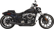 Bassani Road Rage Exhaust For 2018-19 Harley Softail / Fat Boy Models - 1s62rb