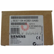 New Siemens 6es7134-4gb01-0ab0 15mm Wide 20ma Plc Electronic Module For Et200s