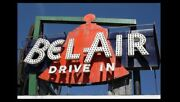 Bel Air Drive-in Movie Theater Sign Photo Route 66 Illinois, 8x10 Poster Print
