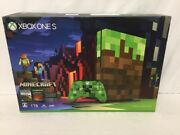 Xbox One Console System S 1tb Minecraft Limited Edition From Japan F/s