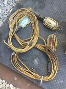 3 Trouble Lights W/ Cord 25ft 12 Awg