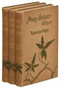 Kathleen Knox / Poor Archie's Girls A Novel In Three Volumes First Edition 1882