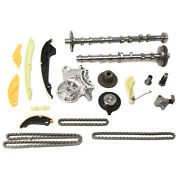 Intake And Exhaust Camshaft+timing Chain Tensioner Kit Fit For Vw Audi A3 1.8/2.0t