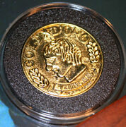 Extremely Rare National Treasure 2 Book Of Secrets Screen Used Treasure Coin