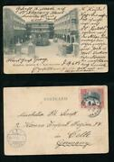 Jamaica 1904 Early Ppc Myrtle Bank Hotel...used To Germany