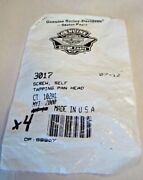 Harley 3017 Self Tapping Pan Head Screw Qty 4 Oem Nos