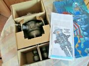Robby The Robot Nickel Metallic 1990's Osaka Tin Toy Made In Japan Limited F/s