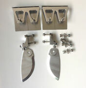 Rc285 High Quality 1 Set Cnc Trim Tabs And Turn Fins Combo For 32-42 Rc Boat