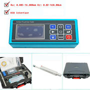 Handheld Surface Roughness Tester Meter Instrument With Real-time Clock Settings