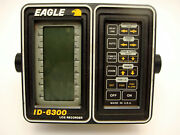 Vintage Eagle Fish Finder Locator Lcg Graph Recorder Id-6300 Head Unit Only