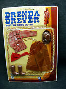 Vintage Brenda Breyer Doll Unger Toys Western Riding Outfit On Card