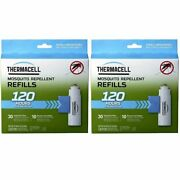 Thermacell Mega Refill Packs R-10 60 Mats And 20 Butane Cartridges - 2-pack