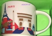 Us Seller - New Starbucks You Are Here France City Paris Mug 14 Oz. Coffee Cup