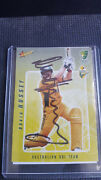 Mike Hussey Select One Day Team Signed Card