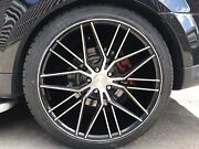 22andrdquo Riviera Alloys For Range Rover Sport/vouge/q7/poursche Wheels And Tyres X 4