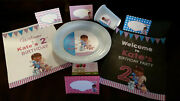 Doc Mcstuffins Birthday Party Pack Plates Cups Banner Signs And Food Tents