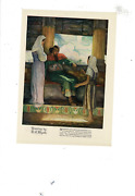 May 1929 Good Housekeeping Little Maid In Captain's House B Barton Ad Print G581