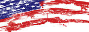 American Flag Distress Graphic Wrap Decal Vinyl Motorcycle Bike Atv Car Scooter