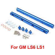 For Gm Ls1 97-04/for Gm Ls6 01-05 Engines Injector Fuel Rail Turbo Kit Aluminium