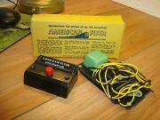 Vintage American Flyer S Uncoupler W/wiring 706-excellent-complete W/box