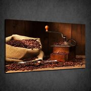 Vintage Antique Coffee Grinder Kitchen Box Canvas Print Wall Art Picture