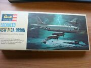 Vintage 1965 Revell 1115 Lockheed Asw P-3a Orion Kit H-163100sealed Parts