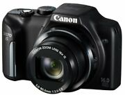 Canon Digital Camera Powershot Sx170 Wide-angle 28mm Optical 16 Times Zoom Pssx1