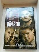 The Departed Movie Dvd New In Package Rated R With Leonardo Dicaprio
