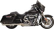 Bassani Road Rage Exhaust For 2017-19 Harley Models - Stainless Steel - 1f21ss