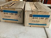 Box Of 1000 Ideal Crimp Sleeve Wire Connectors 18-4 Awg 30-512 Model 412, Nos