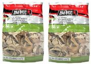 2 Bags Weber 17138 192 Cu In 2 Lb Apple Wood Smoking Bbq Chips