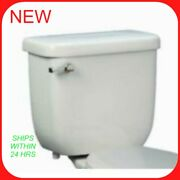 Proflo Pf6110wh Toilet Tank Only With Left Mounted Trip Lever - White Wh