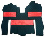 Set Floor Mats Carpet Engine Cover Scania R 2004-2013 Truck Automatic Gearbox