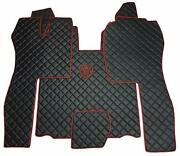 Set Floor Mats Carpet Engine Cover Scania R 2004-2013 Automatic Truck Gearbox