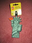 Lego Statue Of Liberty Luggage Tag 52063 - New