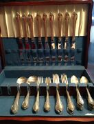 Rogers Bros 1847 Remembrance Silverware Service For 9 Together 54 Pc