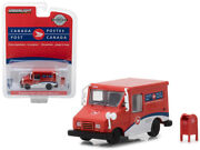 1/64 Greenlight Canada Postal Service Llv With Mailbox Diecast Model Red 29889