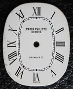 Vintage Woman's Patek Philippe And Co. Ellipse Watch Dial White Ladies