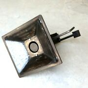 Welded Blacksmithing Firepot 14x12 In For Blacksmith Coal Forge Work With Stand