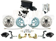 1964-1972 Chevelle Wilwood Caliper Manual Master Cylinder Kit And Adjustable Valve