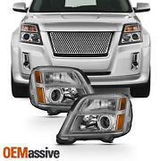 Fits 2010-2015 Gmc Terrain Headlights Left+right Replacement 10 11 12 13 14 15