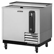 Turbo Air Tbc-65sd-n6 2 Lids Stainless Steel Exterior Bottle Cooler