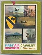 Edward Hymoff / The First Air Cavalry Division Vietnam First Edition 1967