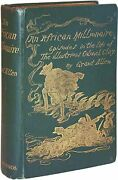Grant Allen / African Millionaire Episodes In The Life Of The Illustrious 1st Ed